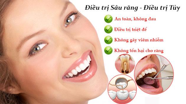 Điều trị sâu răng - Điều trị tủy