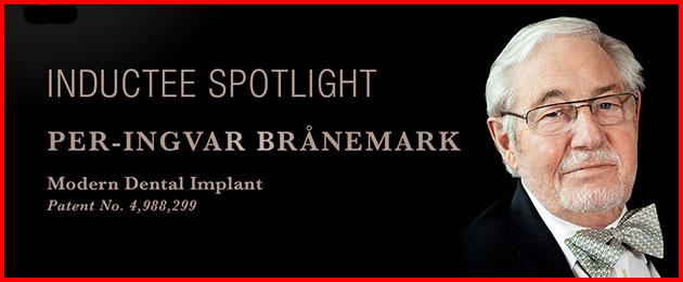Per-Ingar Branemark sáng chế ra Implant