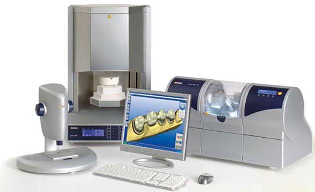 Hệ thống CAD/CAM trong phục hình răng sứ