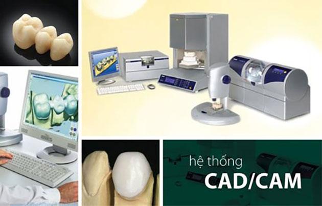 Làm răng sứ bằng hệ thống CAD/CAM