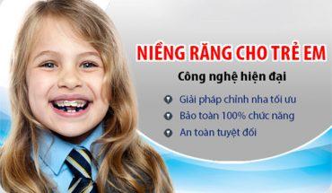 Niềng răng cho trẻ em