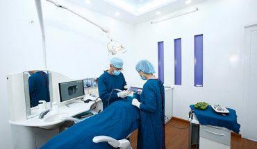 Phòng phẫu thuật tại nha khoa Đà Lạt