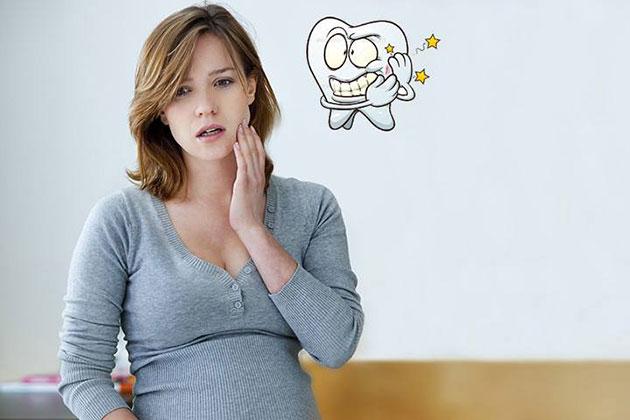 Phụ nữ mang thai bị đau răng